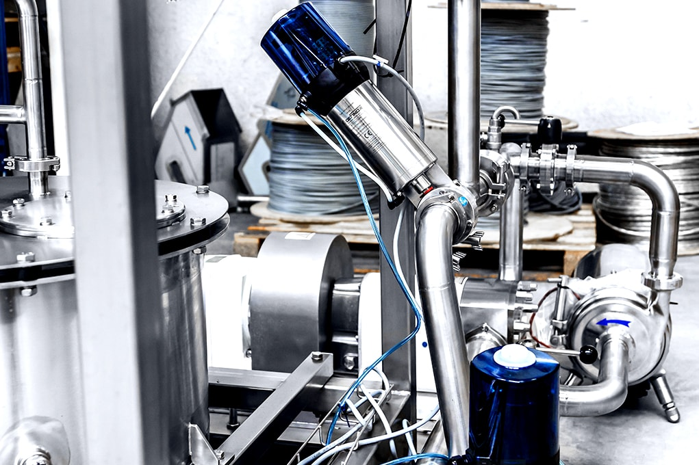 aluminium cap filling machine