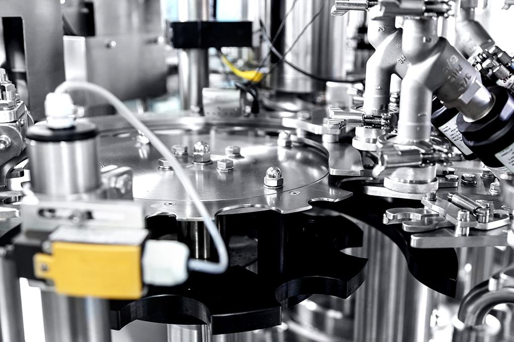Filling machine oil shampoo liquid