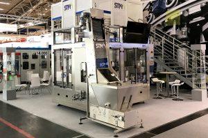 stm cnc machine for filling lines liquid show off